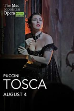 movie poster for Met Summer Encore: Tosca