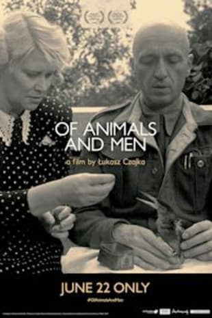 movie poster for Of Animals and Men