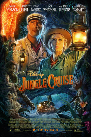 movie poster for Jungle Cruise