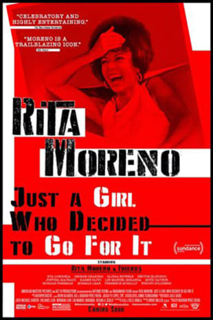movie poster for Rita Moreno: Just a Girl Who Decided to Go For It