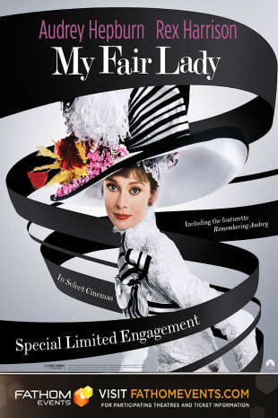 movie poster for My Fair Lady (Fathom Event)