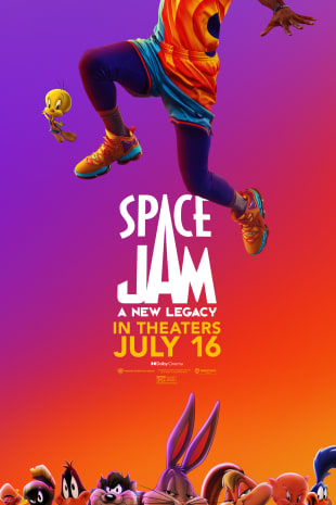 movie poster for Space Jam: A New Legacy