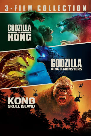 movie poster for Godzilla & Kong 3-Film Collection