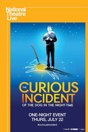 movie poster for NT LIVE: The Curious Incident of the Dog in the Night-Time (2021 Encore)