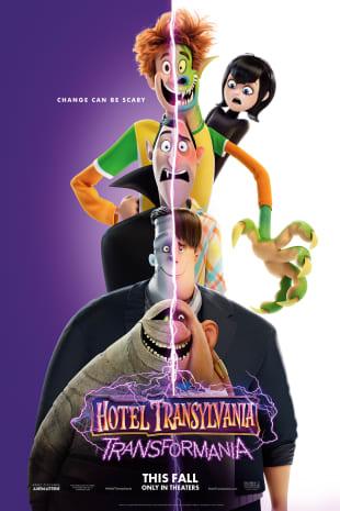 movie poster for Hotel Transylvania: Transformania