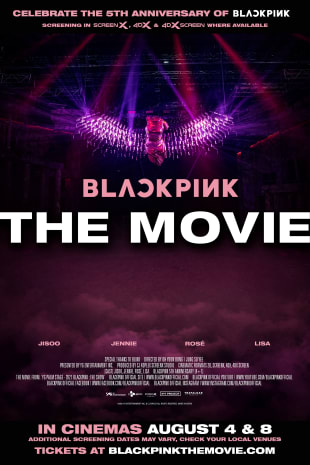movie poster for BLACKPINK THE MOVIE
