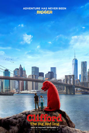 movie poster for Clifford The Big Red Dog