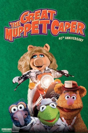 movie poster for The Great Muppet Caper 40th Anniversary