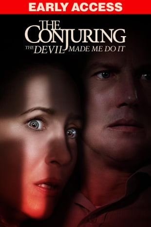 movie poster for The Conjuring: The Devil Made Me Do It