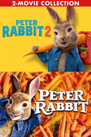 movie poster for Peter Rabbit 2-Movie Collection