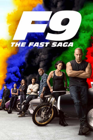 movie poster for F9 The Fast Saga