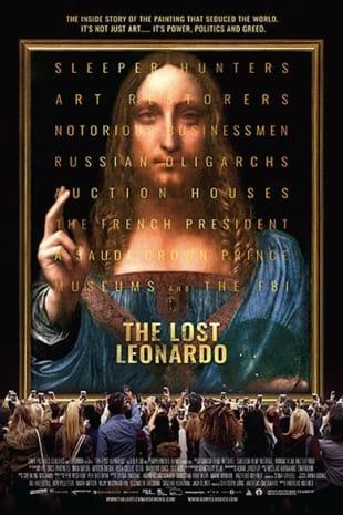 movie poster for The Lost Leonardo