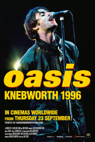 movie poster for Oasis Knebworth 1996