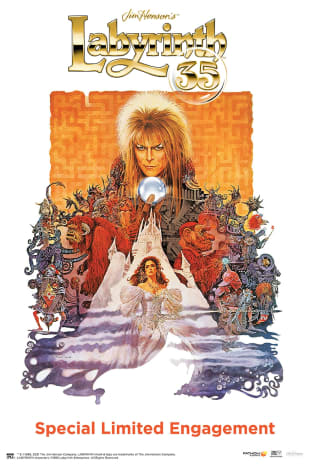 movie poster for Labyrinth 35th Anniversary