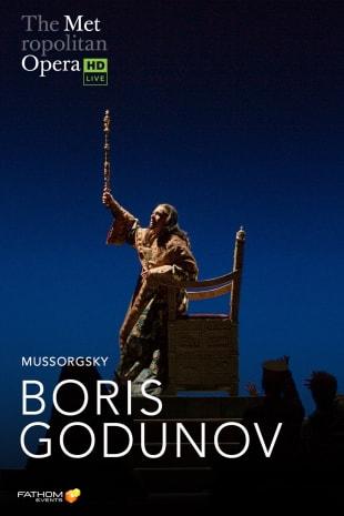 movie poster for MetLive: Boris Godunov