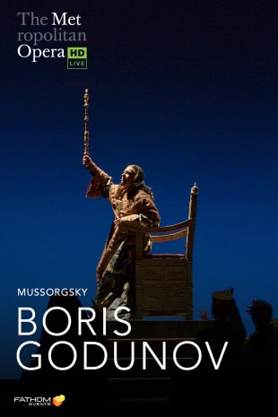 movie poster for MetEn: Boris Godunov Encore