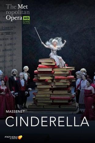 movie poster for MetLive: Cinderella