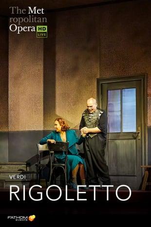 movie poster for MetLive: Rigoletto