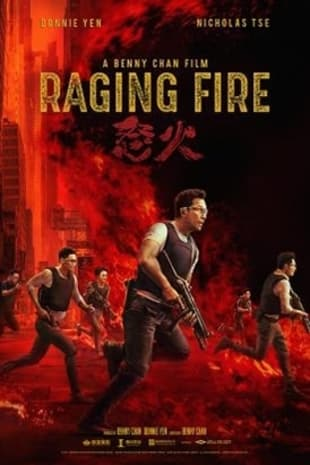 movie poster for Raging Fire