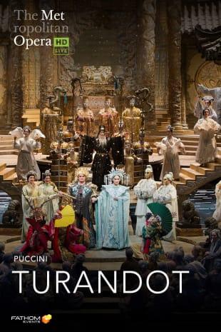 movie poster for MetLive: Turandot