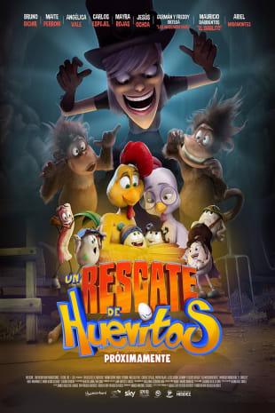 movie poster for Un Rescate de Huevitos