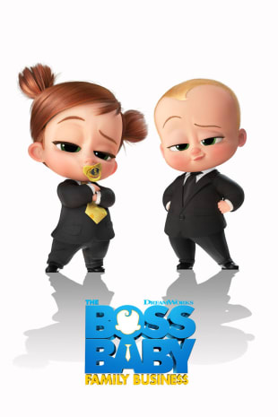 movie poster for The Boss Baby: Family Business