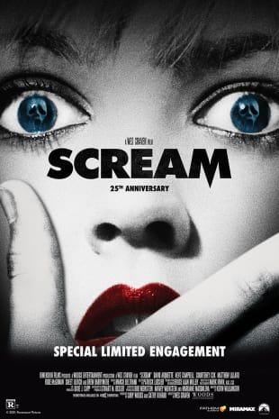 movie poster for Scream 25th Anniversary