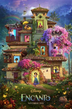 movie poster for Encanto