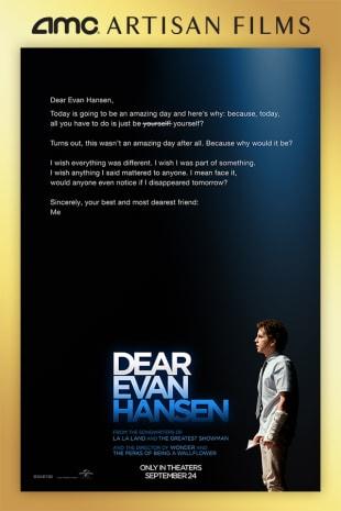 movie poster for Dear Evan Hansen