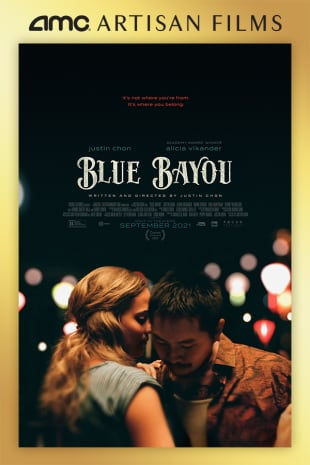 movie poster for Blue Bayou