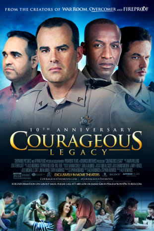 movie poster for Courageous 10th Anniversary