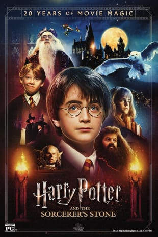 movie poster for Harry Potter and the Sorcerer's Stone 20th Anniversary