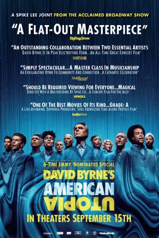 movie poster for David Byrne's American Utopia