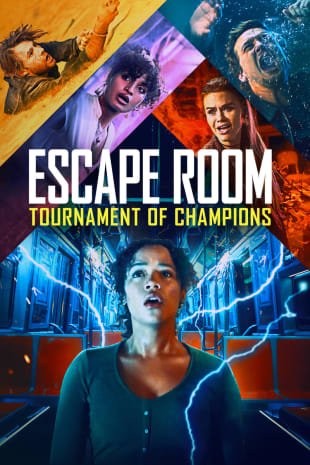 movie poster for Escape Room: Tournament of Champions