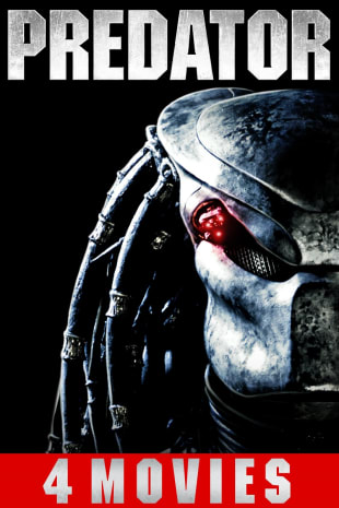 movie poster for Predator 4-Film Collection
