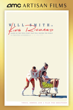movie poster for King Richard