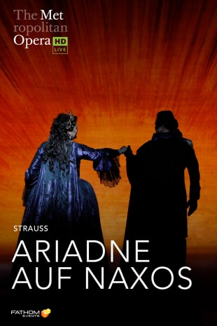 movie poster for MetLive: Ariadne Auf Naxos