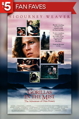 movie poster for Gorillas In The Mist: The Story of Dian Fossey