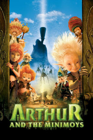 movie poster for Arthur and the Minimoys