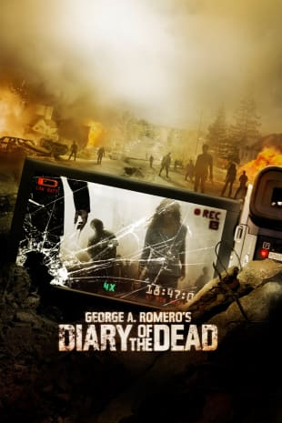 movie poster for George A. Romero's Diary Of The Dead
