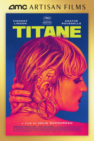 movie poster for Titane