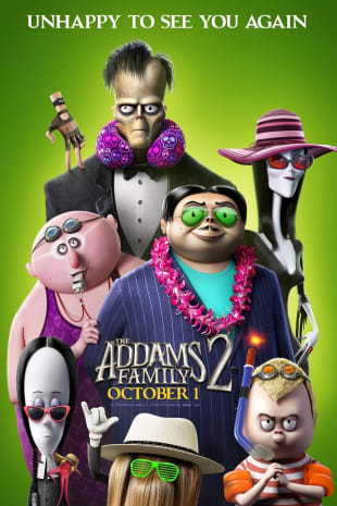 movie poster for The Addams Family 2 : Private Theatre Rental for 1-40 Total Guests
