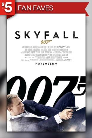 movie poster for Skyfall