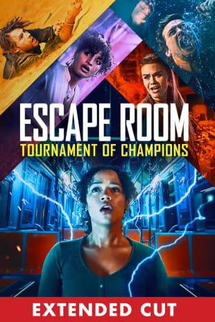 movie poster for Escape Room: Tournament of Champions - Extended Cut