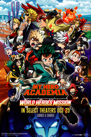 movie poster for My Hero Academia: World Heroes' Mission