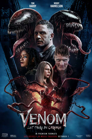 movie poster for Venom: Let There Be Carnage