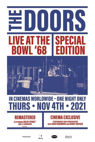 movie poster for The Doors: Live at the Bowl '68 Special Edition
