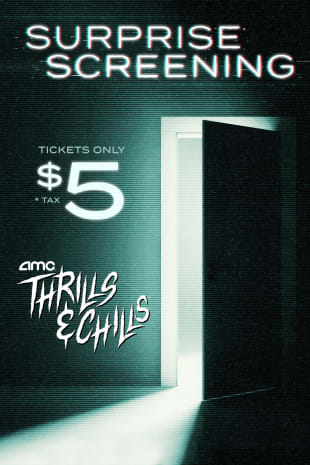 movie poster for AMC Thrills and Chills Surprise Screening: October 15