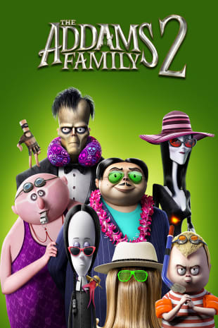 movie poster for The Addams Family 2