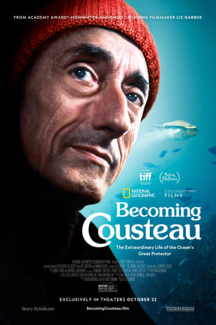 movie poster for Becoming Cousteau